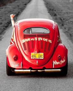 ( 2015...2016 ) - HOT ROD...BLACK & WHITE with HUES 2015. - VW Beetle.