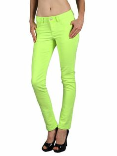 Image detail for -Boutique 9 Neon Green Skinny Jeans - Cheap Colored Jeans for Women ...