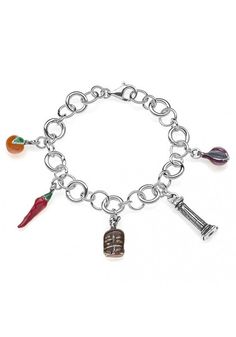 Gioielli Dop Sterling Silver Luxury Bracelet - Calabria €199.00
