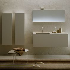 Luxury bathrooms, bathroom accessories and furniture from C. Laundry In Bathroom, Bathroom Faucets, Small Bathroom, Minimalist Bathroom Design, Modern Bathroom Design, Wc Design, D House, Dressing, Storage Design