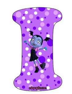 Abecedario de Vampirina Letras para descargar e imprimir gratis | Mi Barquito Halloween Letters, Birthday Pinata, Birthday Party Themes, Birthday Ideas, Vampire Party, Alphabet Letters Design, Cartoon Bee, Happy 6th Birthday, Halloween