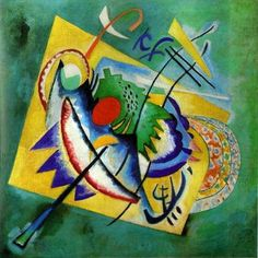 Vassily Kandinsky Red Oval