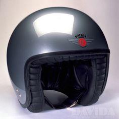 Davida jet Helmets:  standard Silver  Product Code: 80102