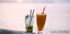 Getting A Free Drink In Huatulco Mexico http://www.travelexplored.com/free-drink-huatulco-mexico/