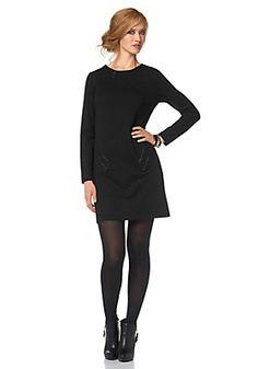 Aniston Jerseykleid im QUELLE Online Shop Shops, Shopping, Black, Dresses, Fashion, Dress Skirt, Vestidos, Moda, Tents