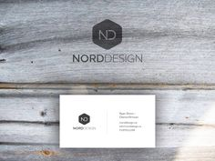 Stationery design for Nord Design by Alyah35