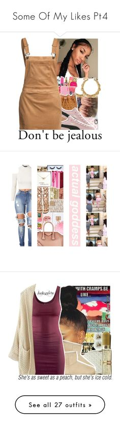 """Some Of My Likes Pt4"" by uniquee-beauty ❤ liked on Polyvore featuring Casetify, Puma, Glamorous, Ashlyn'd, Too Faced Cosmetics, Anne Klein, Michael Kors, Gianvito Rossi, Givenchy and Huda Beauty"