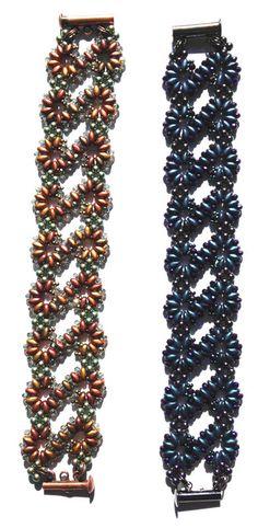 Super Duo Infinity Bracelet Tutorial Sold by AnnaElizabethDraeger on Etsy