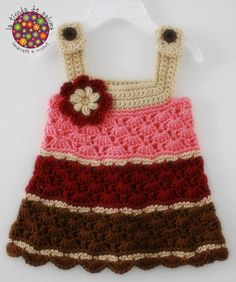 Crochet baby girl dress  Made to order by palomapch on Etsy, $45.00    I will try this dress one day!