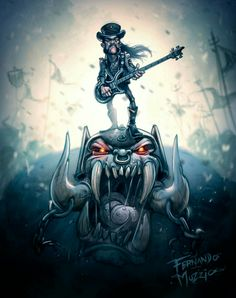 Lemmy is my God : Foto Arte Heavy Metal, Heavy Metal Rock, Heavy Metal Music, Heavy Metal Bands, Hard Rock, Witcher Wallpaper, Metal Tattoo, Rockn Roll, Rock Posters