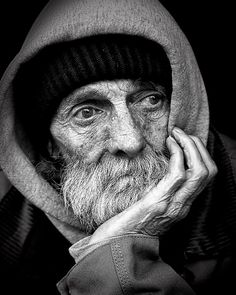 Pessoas, Povos, Sem Abrigo, Masculino, B W, Pobreza
