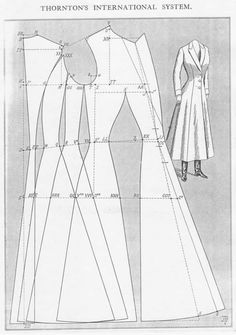 -Original- Pre 1929 Historical Pattern Collection — The new 'ride-astride' coat, for ladies who are.-Original- Pre 1929 Historical Pattern Collection - I will probably never actually make this, but, Da-yumn.The new 'ride-astride' coat, for Costume Patterns, Coat Patterns, Dress Sewing Patterns, Vintage Sewing Patterns, Clothing Patterns, Skirt Patterns, Blouse Patterns, Corset Sewing Pattern, Bodice Pattern
