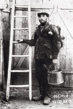 Jewish chimney sweep. Photograph. About 1904. (Photo by Imagno/Getty Images) Jüdischer Rauchfangkehrer. Photographie. Um 1910. *** Local Caption ***