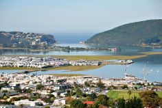 A view of Knysna and the lagoon and the Heads, South Africa. Provinces Of South Africa, Knysna, Wonderful Life, Afrikaans, Countries Of The World, Cape Town, West Coast, Places To Go, Dolores Park