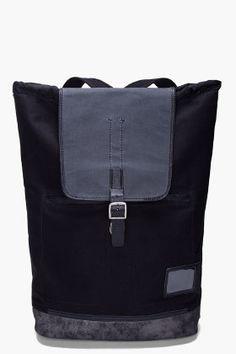 DIESEL Black Tyler II Backpack