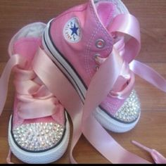 Ribbon for laces.....sooo cute!!!!!!!!!