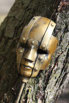 Machine Masquerade Steam Punk styled mask by Zoroko on Etsy, $30.00