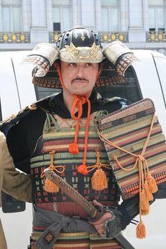 Traditional Japanese Samurai Costume | Sherrie Thai | Flickr