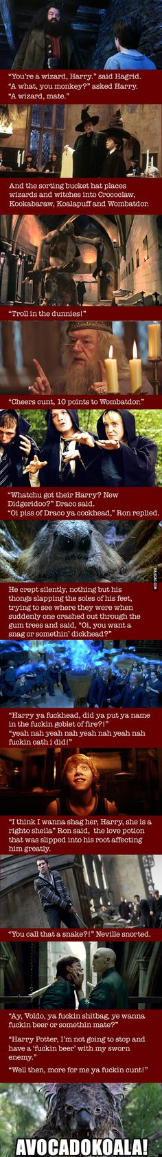 "If ""Harry Potter"" was set in Australia"