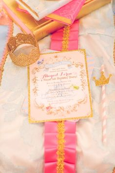 Pink Princess Birthday Party by Sienna Rose Photography - Inspired By This