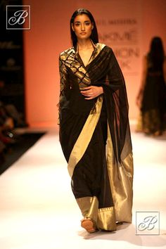 Rahul Mishra designer saree collection