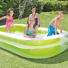 "Intex Inflatable Swim Center Family Lounge Pool 103"" x 69"" x 22"" New Free Ship #Intex"