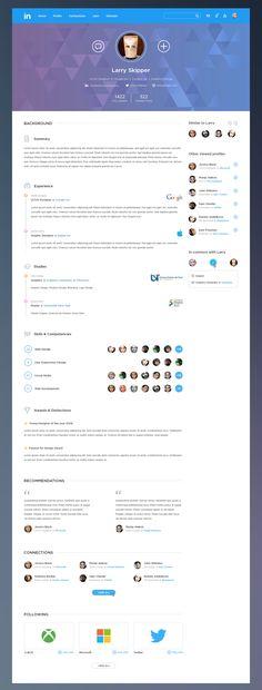 Linkedin Redesign Concepts