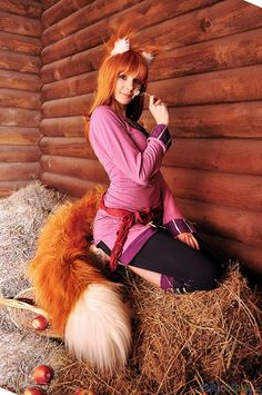 Holo from Spice and Wolf  http://dailycosplay.com/2013/January/12b.html  http://dailycosplay.com/: