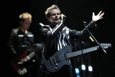 Muse have released six studio albums: Showbiz (1999), Origin of Symmetry (2001), Absolution (2003), Black Holes and Revelations (2006), The Resistance (2009) and The 2nd Law (2012).