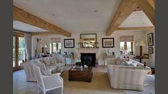 sitting rooms, modern spacious sitting room with fine oak framework
