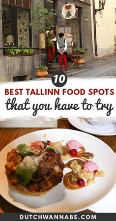Great food is so easy to find in Tallinn, it's ridiculous! But even so, sometimes you just need a guide... Well, this Tallinn restaurants & cafe guide is all about where to eat in Tallinn. It includes both popular and less known spots. #estonia #tallinn #cafe #foodguide Tallinn Food Guide | Tallinn Dining Guide | What to Eat in Tallinn | Where To Eat in Tallinn | Tallinn Restaurants | Restaurants in Tallinn  via @dutchwannabe