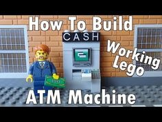 How To Build A Working Lego ATM Machine - YouTube