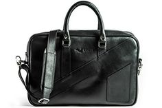 New Trending Briefcases amp; Laptop Bags: KANZEK Black Luxury Full Grain Leather Laptop Briefcase / Executive Shoulder Messenger Bag, 15.6 Computers, Slim, Light  Professional. Premium Metal Zippers and Materials - Mens  Womens. KANZEK Black Luxury Full Grain Leather Laptop Briefcase / Executive Shoulder Messenger Bag, 15.6″ Computers, Slim, Light  Professional. Premium Metal Zippers and Materials – Men's  Women's   Special Of