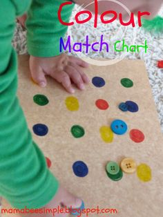 Mama Bee Simple: Colour Match Chart