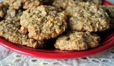 Soft and delicious banana oat cookies that are good enough for breakfast. #vegan #gluten-free