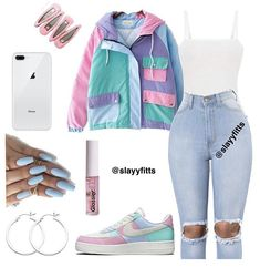 :Basic outfits, outfits for teens, trendy outfits, going out outfits, Swag Outfits For Girls, Teenage Girl Outfits, Cute Outfits For School, Cute Casual Outfits, Teen Fashion Outfits, Look Fashion, Stylish Outfits, Jeans Fashion, Basic Outfits