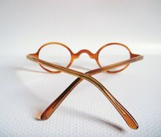 c729352779 Poor Dutch Design very small lens Eyeglass Round Tortoise Frames Glasses  Mens