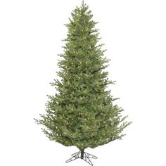 Vickerman 7.5 Lexington Spruce Artificial Christmas Tree with 700 Clear Lights