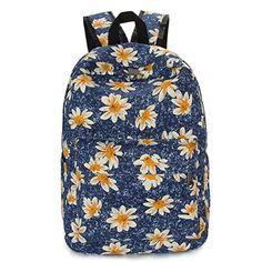 Coofit Women's Fashionable Cartoon Sunflower Canvas Backpack Knapsack Rucksack (Multicolor) Coofit http://www.amazon.com/dp/B010XCM9VW/ref=cm_sw_r_pi_dp_QyHCwb1HJZA18