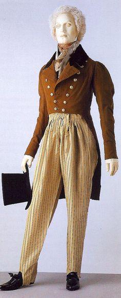 Cossack trousers 1820-30 - VA men fashion