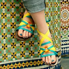These are Mohop sandals... but I would love to do this with my Ssekos!