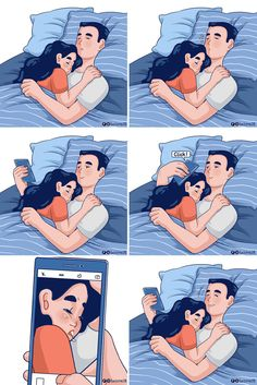 12 Comic books showing the life of any person in love Love Cartoon Couple, Cute Couple Comics, Couples Comics, Cute Couple Art, Cute Comics, Funny Comics, Cute Couple Things, Cute Couple Memes, Cute Love Pictures