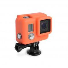 Gopro, go pro, camera, technology, go pro accessory Xsories Silicone Cover HD3+ -Orange