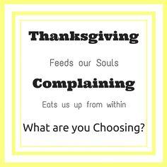 Thankfulness Brings Fellowship
