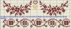 Gallery.ru / Фото #9 - ORNAMENT 3 - aaadelayda Cross Stitch Love, Cross Stitch Borders, Cross Stitch Samplers, Cross Stitch Flowers, Cross Stitch Charts, Cross Stitch Designs, Cross Stitch Patterns, Quilt Stitching, Cross Stitching