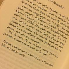 Nos 14 Novembre, Aurelie Silvestre