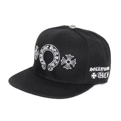 Chrome Hearts Best Cross Embroidered Horseshoe Hat Model  Chrome Hearts Mod  050 deb00f146ee4