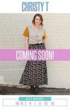 a8f9c8e91 *Coming Soon* The beauty of any T shirt is in its simplicity. Like most  simple things, there is more to consider. LuLaRoe is happy to offer another  ...