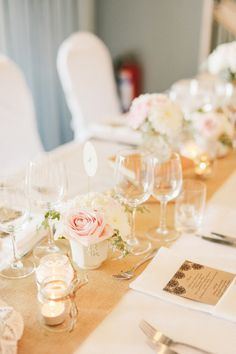 A romantic vintage wedding