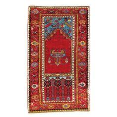 LADIK GEBETSTEPPICH  Türkei, erste Hälfte 19. Jhdt. Size: 200 x 121 cm